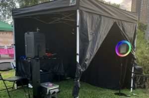 Photo Booth Rental Outside